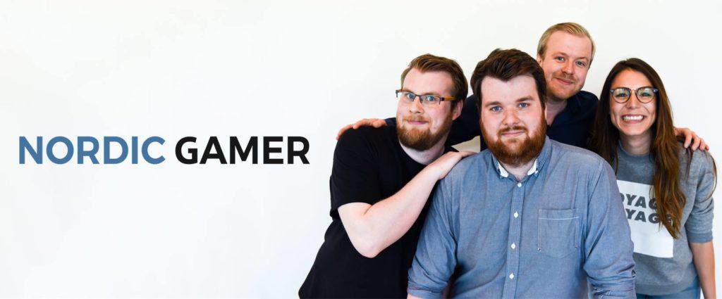 Bild på Nordic Gamer gänget